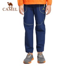 CAMEL Children Spring Breathable Quick drying Camping Trekking Outdoor Hiking Pants Climbing Trouser Travel