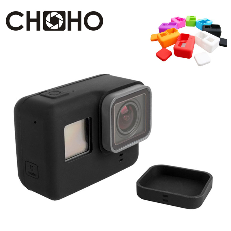 Lens Cap Cover For GoPro HERO 6 5 Silicone Protective Housing Case