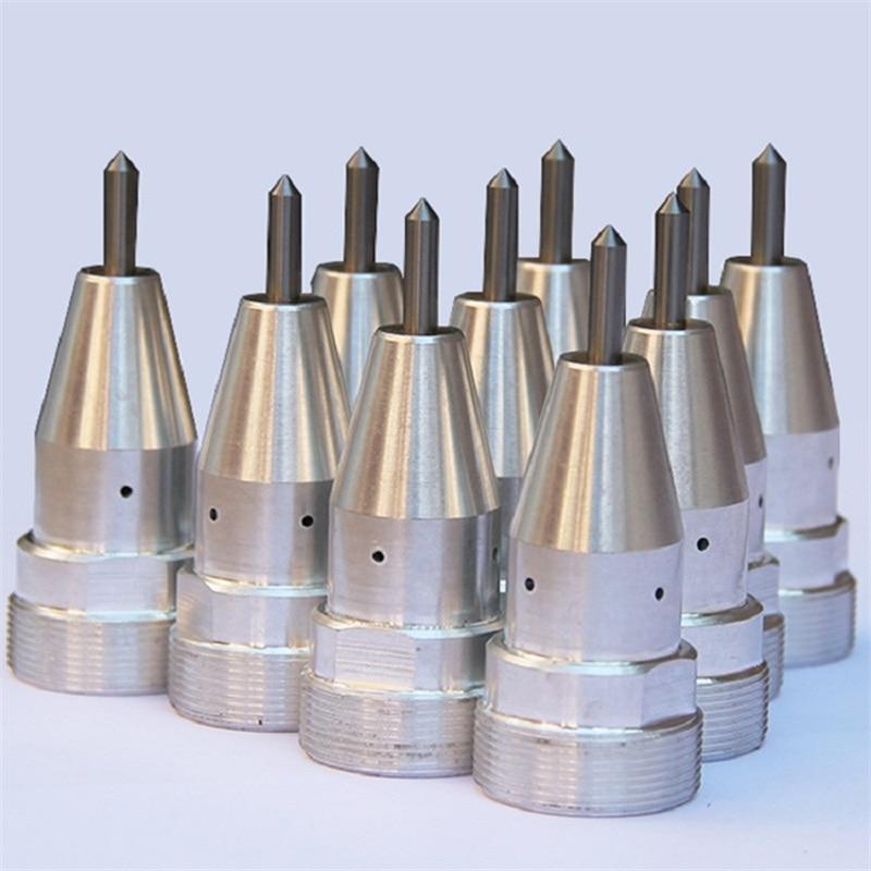 Testa pneumatica dell'incisione delle componenti dell'ago della - Attrezzature per la lavorazione del legno - Fotografia 2