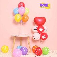 1set Splicing balloon table floating column Wedding decoration birthday setting bracket base set