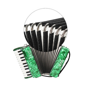 Image 5 - IRIN 22 Key 8 Bass Piano Accordion with Straps Gloves Cleaning Cloth Educational for Students Beginners Childern