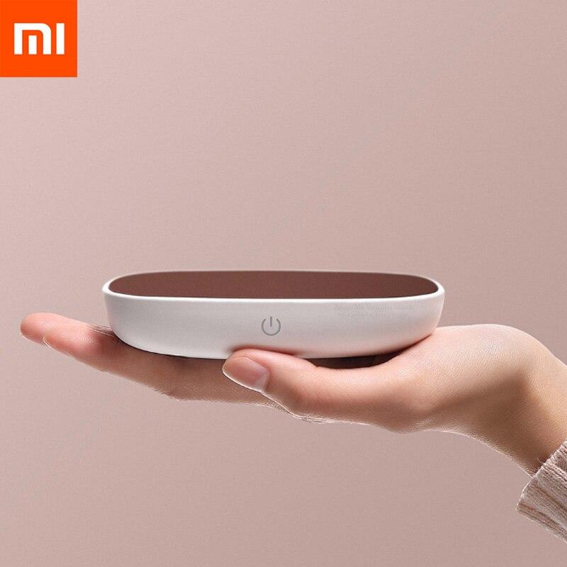 Xiaomi Youpin SJ Xiaobai Aquecimento Isolamento Coaster 55 °C Aquecimento Temperatura Constante DC 12V PI para a Porcelana De Metal De Vidro copo