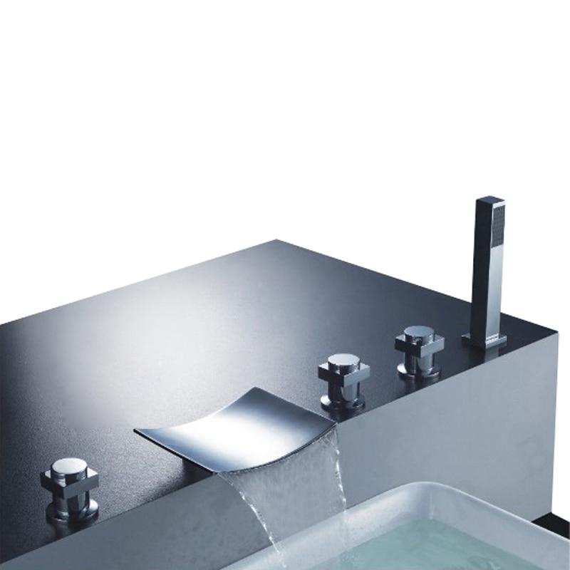 BAKALA wholesale for the bathroom Brass Chromed bathtub faucet and shower mixer LT S202
