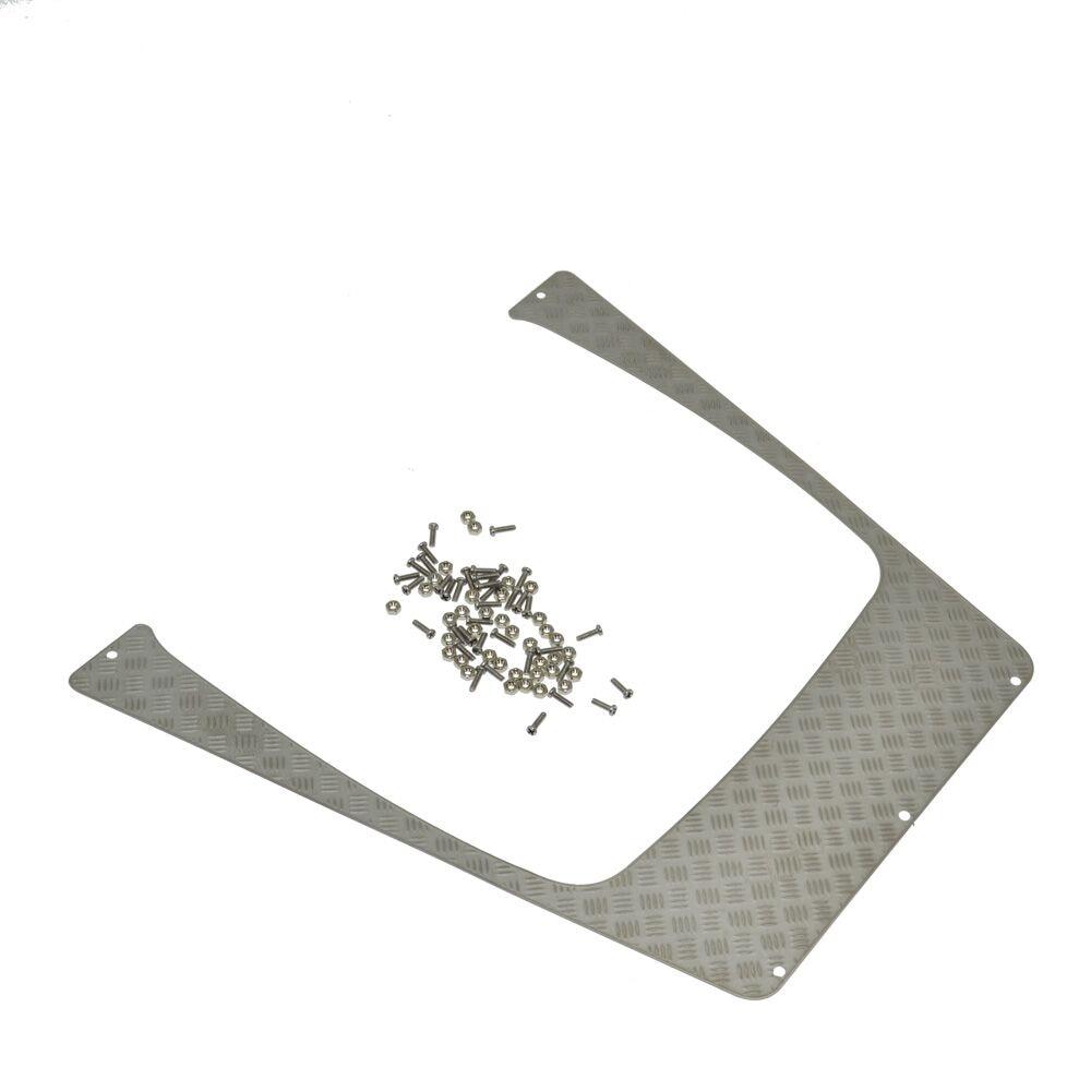 Parrilla de admisión de placa antideslizante de acero inoxidable RC - Juguetes con control remoto - foto 3