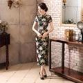 Shanghai Story Ladies Long Cheongsam Qipao Traditional Chinese Dress  Long Qipao for sale Chinese Cheongsam dress 2 Style