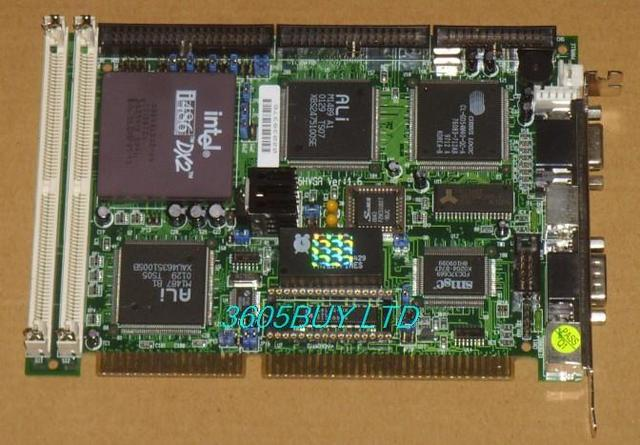 Industrial motherboard HS5X86HVGA Ver: 1.6 half-length plate 486 IPC board