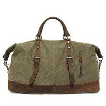 قدرة كبيرة حقيبة يد للرجال قماش الأعلى طبقة جلد البقر الربط مصمم واق من المطر حقيبة الأزياء برميل على شكل حقيبة كتف كبيرة