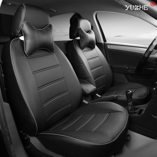 yuzhe en cuir housse de si ge de voiture pour land rover discovery sport freelander gamme sport. Black Bedroom Furniture Sets. Home Design Ideas