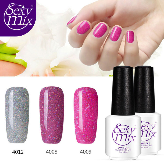 Y Mix 3 Pieces Pack Winter Color Set Neon Gel Nail Polish Professional Hot S