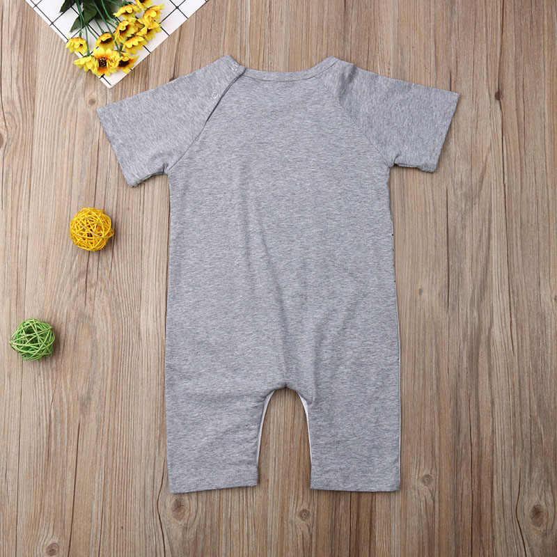 Ползунки для новорожденных мальчиков и девочек, комбинезон с зайчиком, летняя одежда для малышей, Детские наряды, милые прекрасные подарки, новинка 2019 года