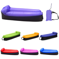 2019 Trending Products Fast Infaltable Air Sofa Bed Ultralight Inflatable Sofa Lazy Bag Sleeping Bag Beach Sofa Laybag Air Bed