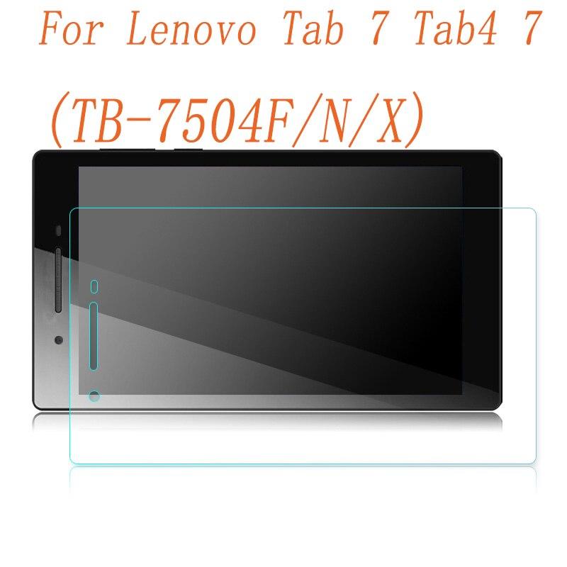 9H Premium Tempered Glass For Lenovo Tab 7 TB-7504X Tab 4 7.0 Inch TB-7504F TB-7504N TB-7504 Tablet Screen Protector Film Guard