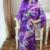 Mulheres Noite Robe Sinicism Imitação de Seda 2017 Verão Sexy Nightgowns Sleepshirts Pijama Floral Do Vintage Em Casa Vestir Pijamas