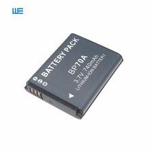 BP-70A EA-BP70A IA-BP70A BP70A IABP70A Батарея для SAMSUNG AQ100, DV150F, ES65, ES67, ES70, ES71, ES73, ES74, ES75, ES80