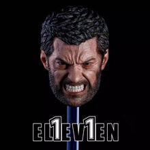 1/6 Scale Wolverine Hugh Jackman Eleven Angry Logan Head Sculpt F 12 Figure