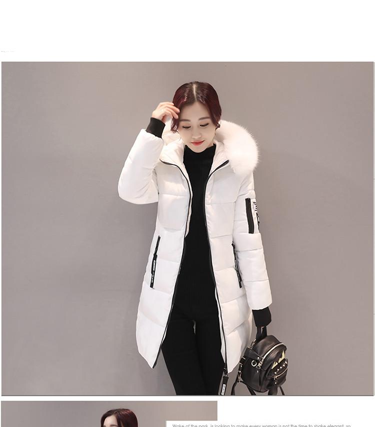 Jacket Hooded Parkas Slim 4
