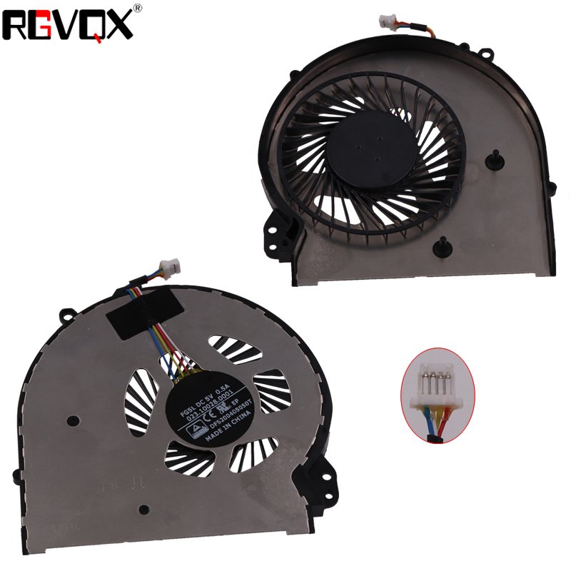 New Laptop Cooling Fan For HP OMEN 15 5010NR 5000 Q001TX 5114TX 5113TX Left Right Original CPU Cooler Radiator in Fans Cooling from Computer Office