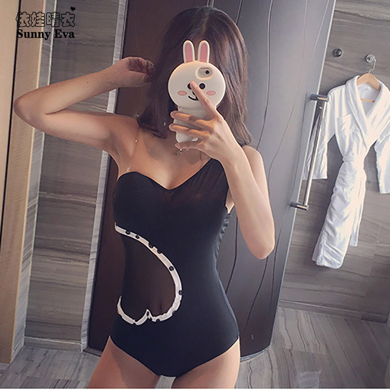 Sunny eva black Swimwear one-piece bathing suit sexy large size swimwear high cut swimwear sportswear for women plus size 20pcs lot 2sd1760 d1760 to252