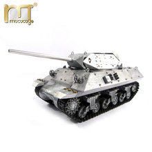 Mato 100% metal rc tanks M10 Destroyer Ready to Run Original metal color Infrared recoil metal model rc tank