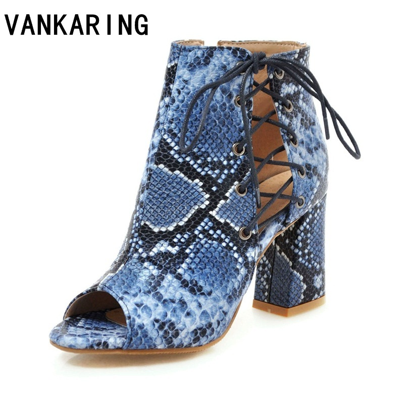 lace up casual summer shoes fashion serpentine sandals sexy cut outs brand shoes woman spring summer