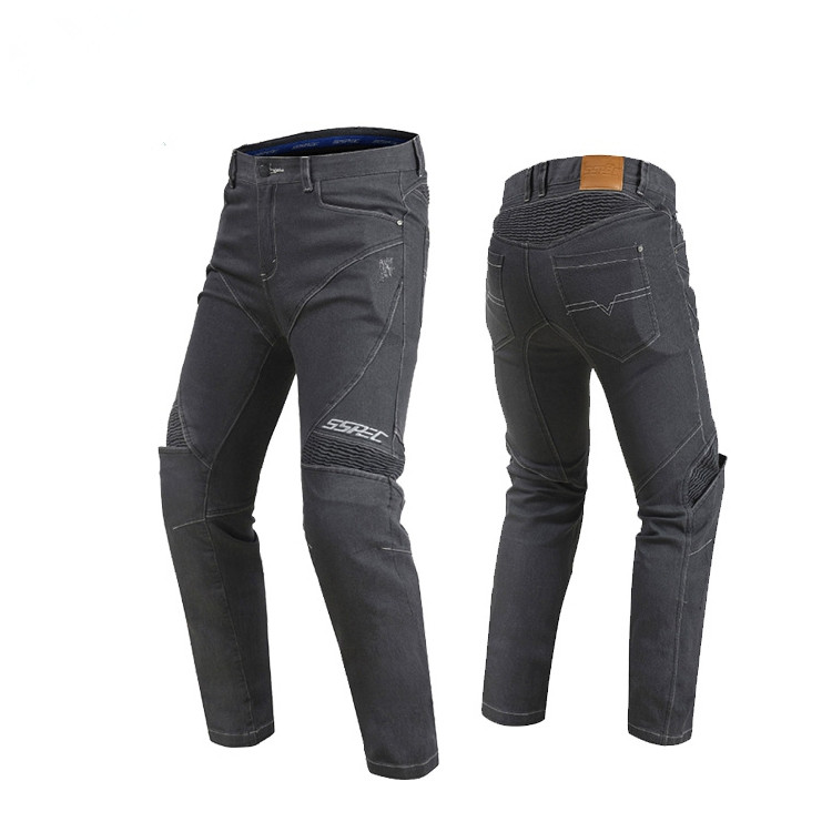 Motorcycle Four Seasons SCP-8002 Riding Pants Racing Casual Biker Jeans Anti-fall Pants Man