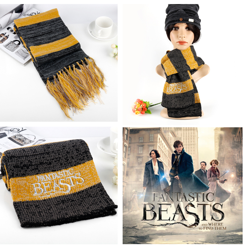 Winter Scarf Fantastic Accessary Wome And To Cosplay Men Costume Them Where Find Beasts