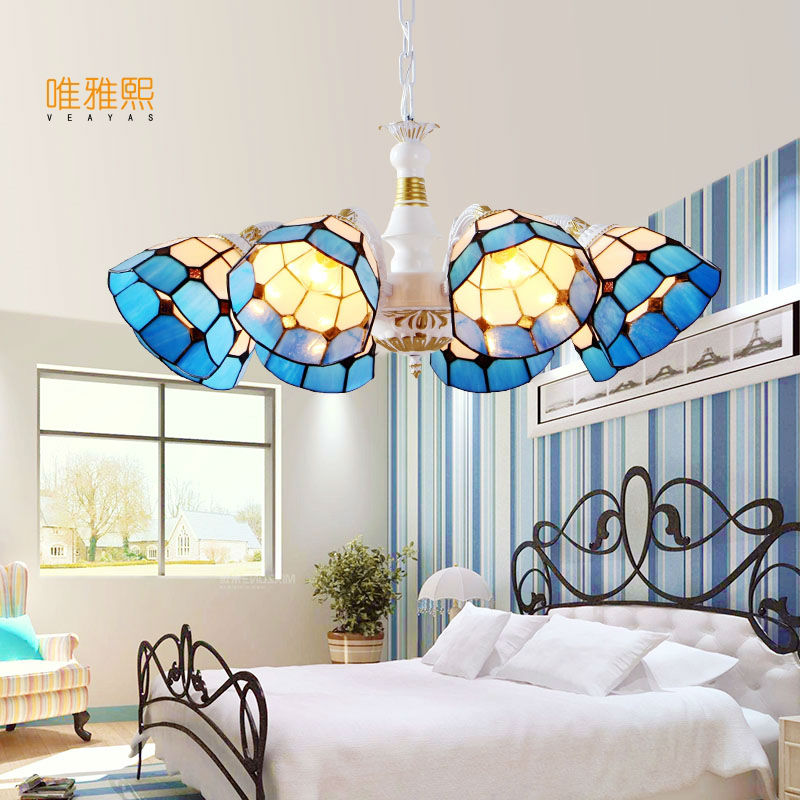 2017 New Style Chandelier Lighting Fixture l Light Lustres de cristal for Living Room Ceiling Lamp Free Shipping
