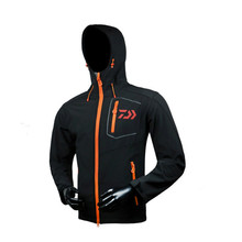 2018 Men Hooded Quick Dry Breathable zipper Fishing Shirt Plus Size Long Sleeves Professional Hiking Fishing Clothing Sportwear