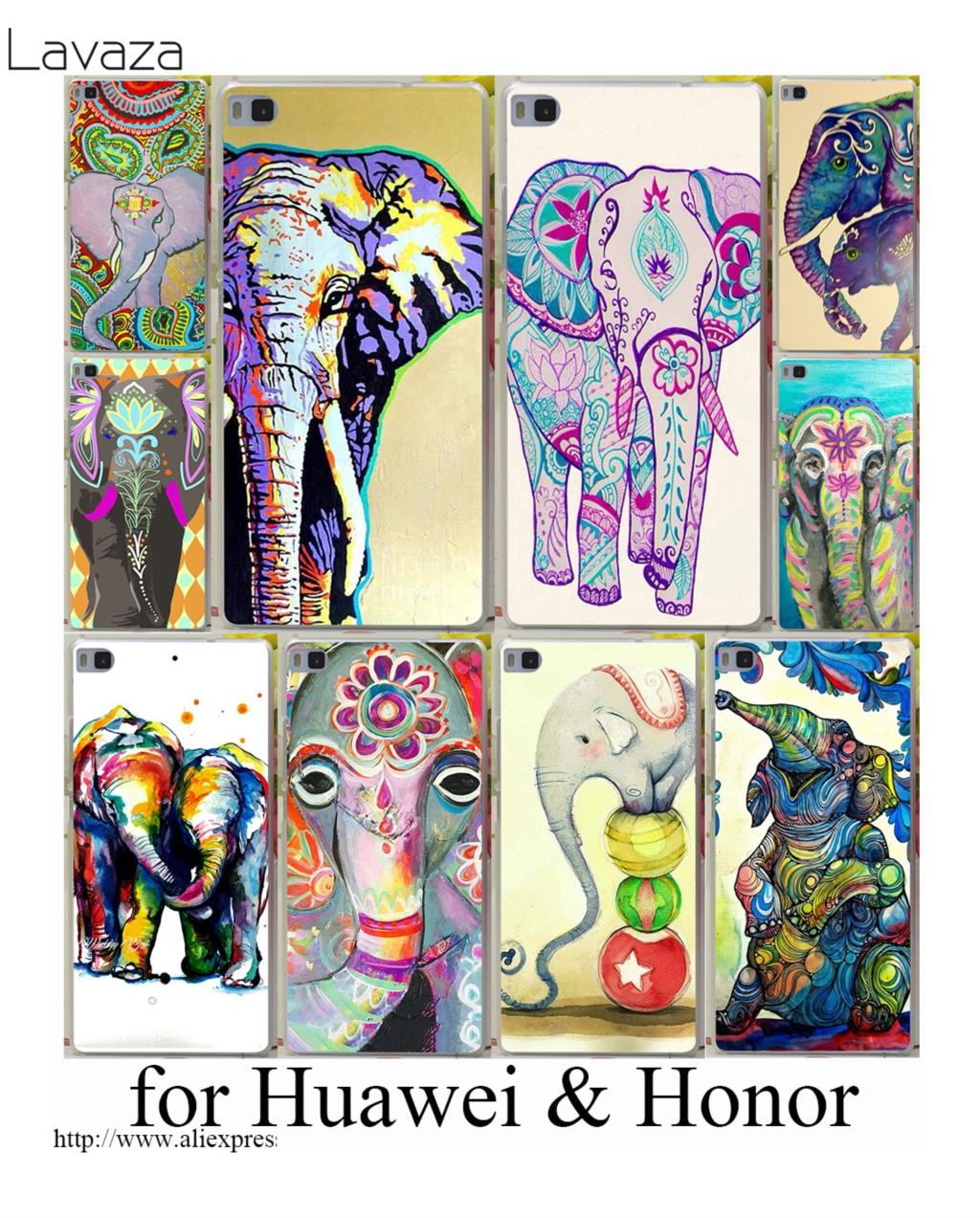 Lavaza Pretty Elephants phone Hard case for Huawei P smart P20 P10 P8 P9 lite mini Plus Pro 2015 2016 2017 ...