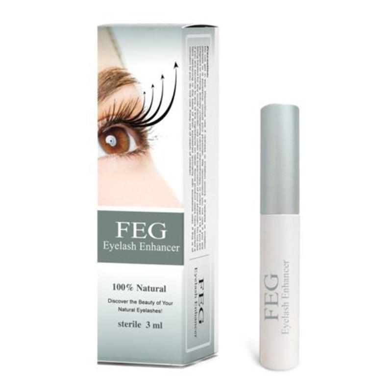 Free Shipping 100% original feg eyelash enhancer 7 Days Grow 2-3 mm eyelashes, face care,eyelash serum Waterproof Mascara