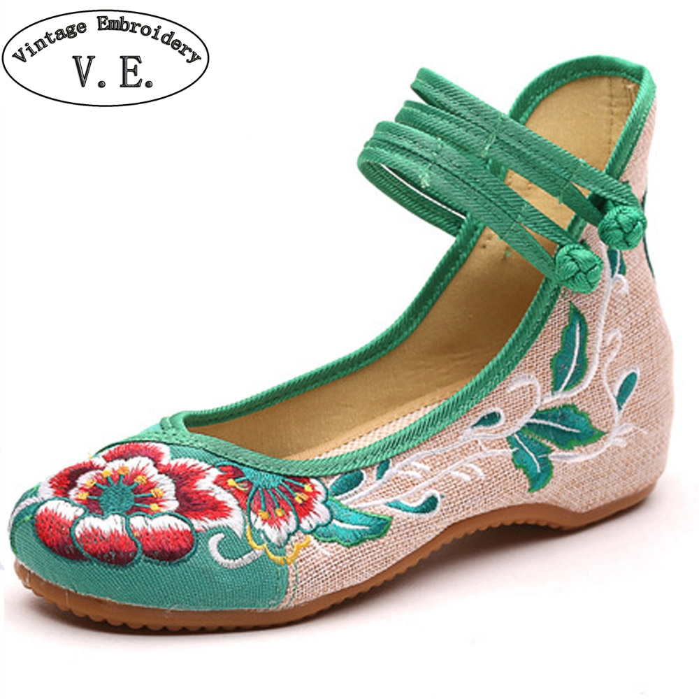 Spring Summer Shoes Women Flats Floral Embroidery Soft Sole Casual Dance Ballet Drive Shoes Zapatillas Mujer Casual Plus Size 43 2017 new summer zapato women breathable mesh zapatillas shoes for women network soft casual shoes wild flats casual shoes