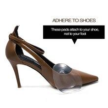 1 пара/2 шт гелевые подушечки для пальцев стопы, колодки для обуви, силиконовые подушечки для обуви, Женская стелька с высоким каблуком, многофункциональная для FemaleC1424