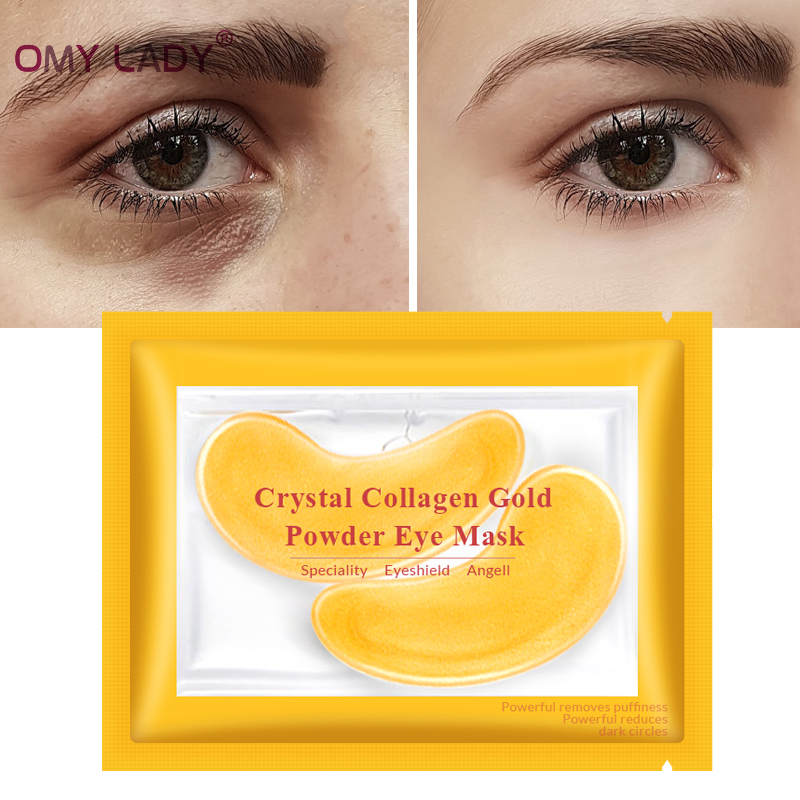 Well-Educated 120g Gold Eye Mask Crystal Collagen Face Mask Dark Circles Anti-puffiness Cream Face Lift Hyaluronic Acid Golden Hand Neck Masks Elegant In Style Beauty & Health
