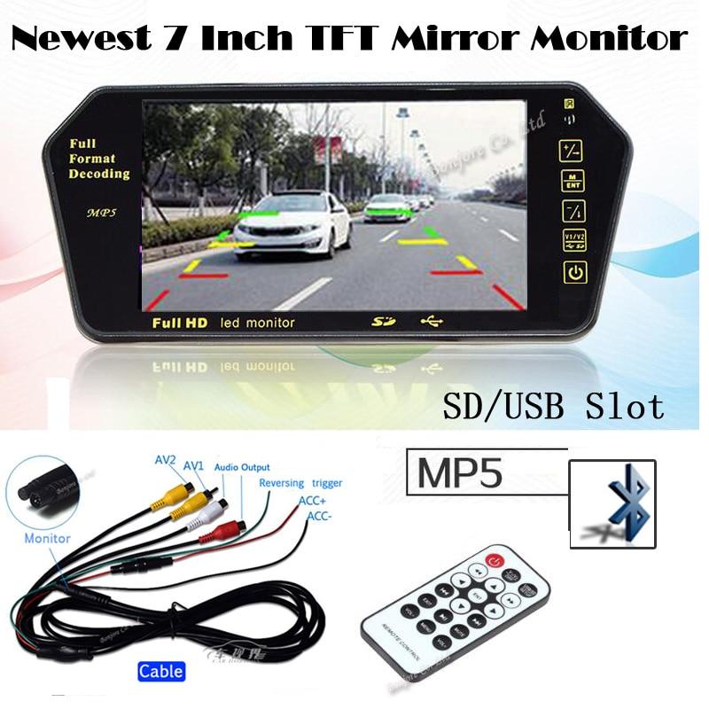 Koorinwoo Reproductor TFT LCD de 7 pulgadas Monitor colorido de - Electrónica del Automóvil - foto 6