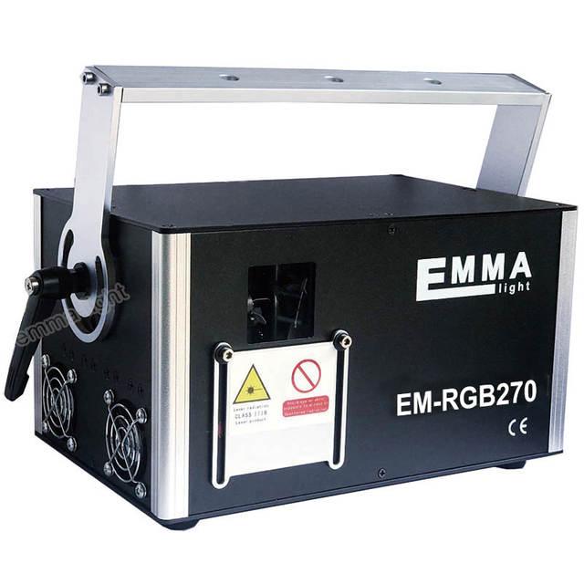 US $1550 0 |DMX 5000mW RGB Laser Stage Lighting Scanner DJ Dance Party Show  Blue Light LED Effect Projector Fantastic Disco item -in Stage Lighting