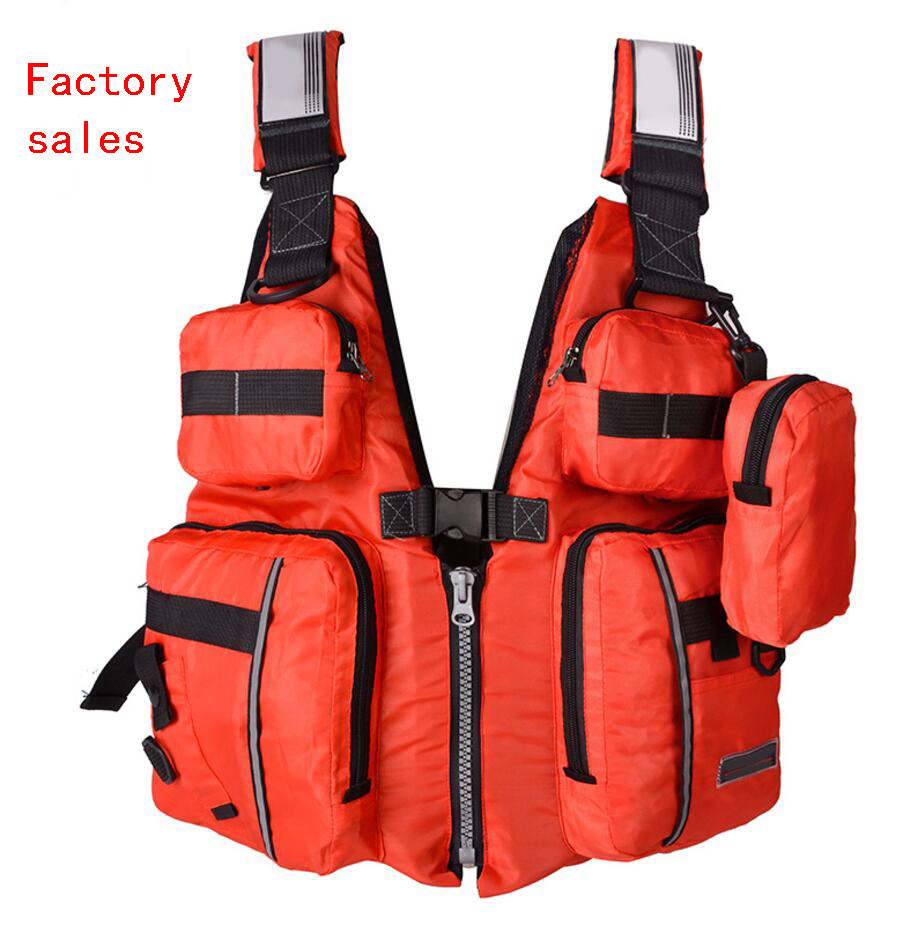 New Detachable Adult Life Jacket Vest Aid Sailing Surfing Fishing Kayak Boating Outdoor Sports With Many Pockets life jacket professional adult life jacket neoprene life vest for men women boating fishing surfing kayak