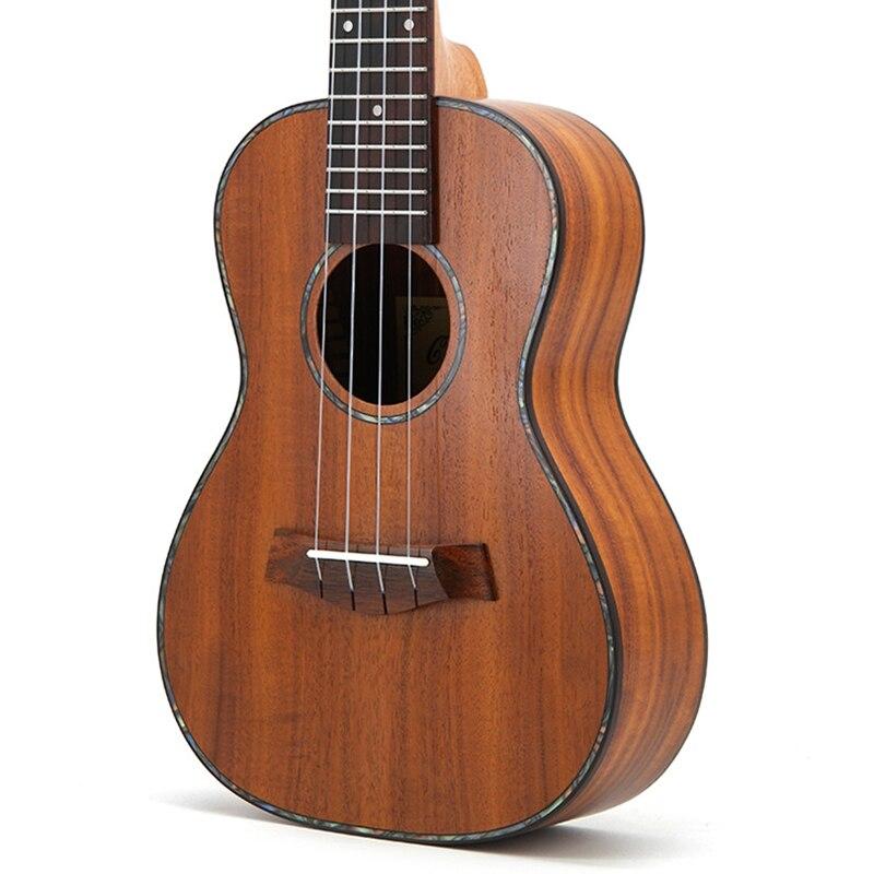Concert ukulélé 23 acoustique petite guitare 4 cordes KOA doux Acacia Uke palissandre Fretboard électrique Ukelele avec ramassage EQ - 4