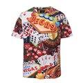 3D Печатных Рубашку Мужчины Красочные Polo Рубашка Плюс Размер 3XL летние Рубашки для Мужчин Высокого Качества Футболка Бесплатная Доставка BL1