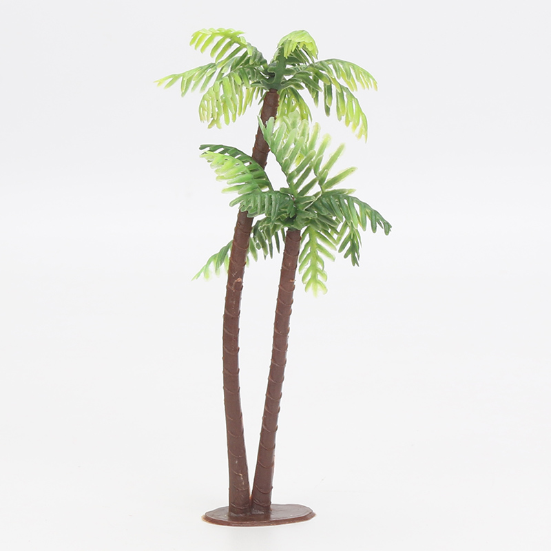 5pcs/lot Coconut tree Cake topper Decorating Tools Birthday Wedding Cake Decoration Baby Shower Kids Birthday Party Supplies