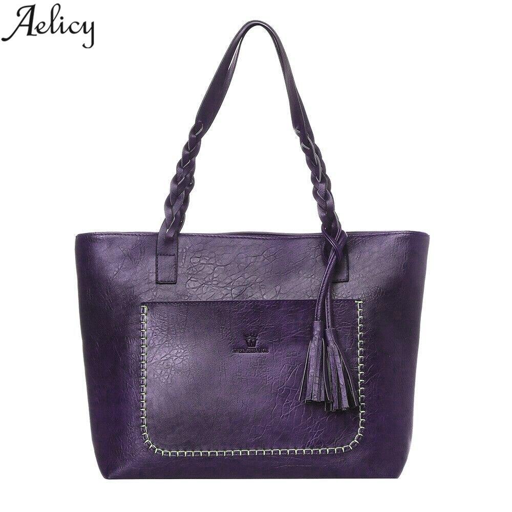 Aelicy High Quality New Women Leather Handbags Shoulder Bag Womens Casual Tote Bag Female Handbags Ladies Hand Bags bolsa