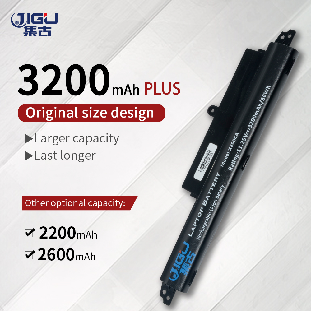JIGU A31LM2H A31LM9H A31LMH2 A31N1302 A3INI302 Laptop Battery For Asus For VivoBook F200CA F200M FX200CA <font><b>X200CA</b></font> 3CELLS image