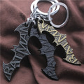 Euro-American Hot Sale Movie Batman Key Chain Metal Keychains Key Rings Wholesale 12pcs/lot Size7*4cm 3 Colors