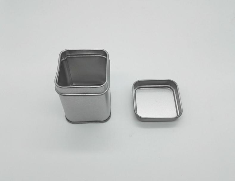 50g Tin Metal Cans Storage Bottles Jars Metal Cans Tea Caddy Mini Candy small sealed canisters portable travel Tea box SN1504