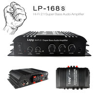 2 1 Channel 40W X2 68W RMS Output Amplifier Household Small 12V Car Power Amplifier With
