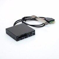 3.5 In Internal PCI E PCI Express USB 3.0 HUB Card Reader SD SDHC MMS XD M2 CF Memory Card Readers & Adapters