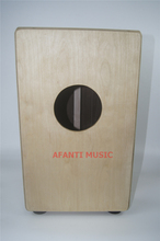 Afanti Music Rosewood / Birch Wood / Percussion / Natural Cajon Drum (KHG-136)