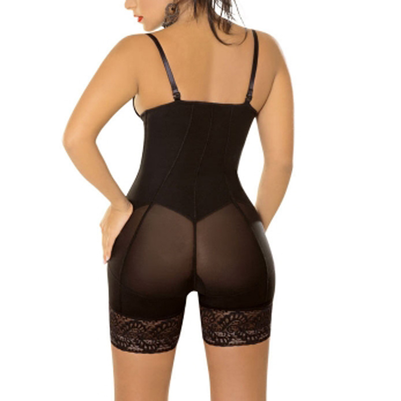 fa9d83337ee Hot New Sexy Lace Zip Girls Waist Trainer Tummy Control Women Waist Bodycon  Corsets Cincher Body Shaper Bodysuits Butt Lifter-in Bodysuits from  Underwear ...