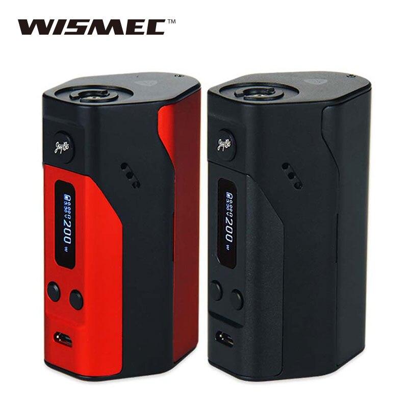 WISMEC Reuleaux RX200 Mod Vape TC/VW Mode Box Mod with OLED Screen Temper Control Mod e electronic cigarette Vs Rx2/3 Rx300 стоимость