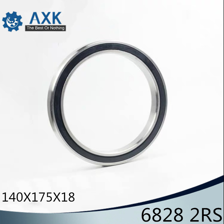 6828 2RS 140x175x18 Metric Thin Section Bearings 61828 RS6828 2RS 140x175x18 Metric Thin Section Bearings 61828 RS