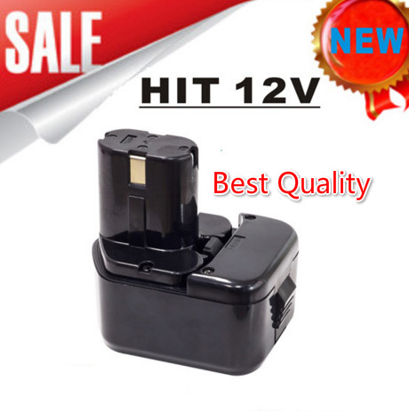 цены Waterproof 12V 4500mAh Ni-Mh Replacement Power Tool Battery for Hitachi EB1212S EB1214L EB1214S Free Shipping